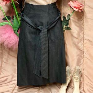 Club Monaco striped skirt